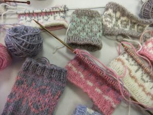 fairisle workshop samples